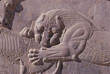 Wandrelief in Persepolis